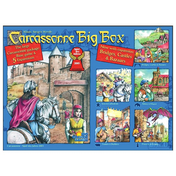 Carcassonne big box 5 rules for dating 3