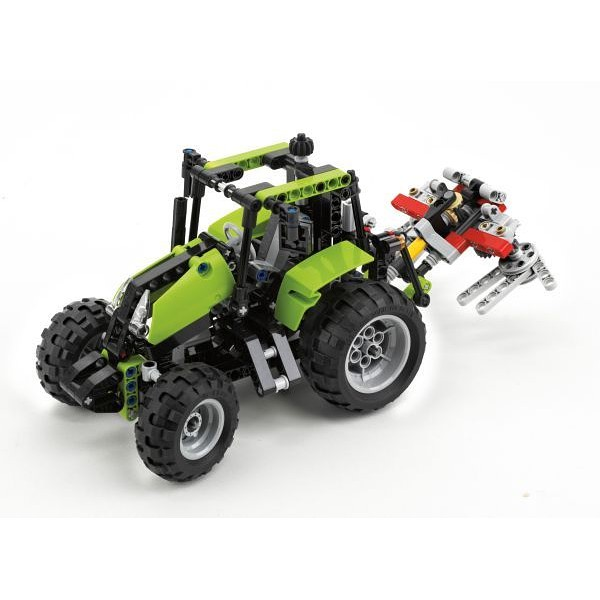 1 x Lego Technic Set Modell 8049 Traktor für Forstkran Tractor with Log Loader g