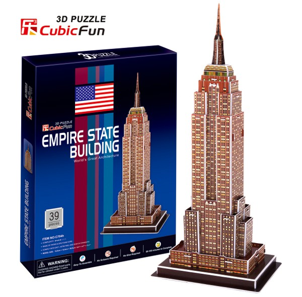 PUZZLE 3D EMPIRE STATE BUILDING - Image 1